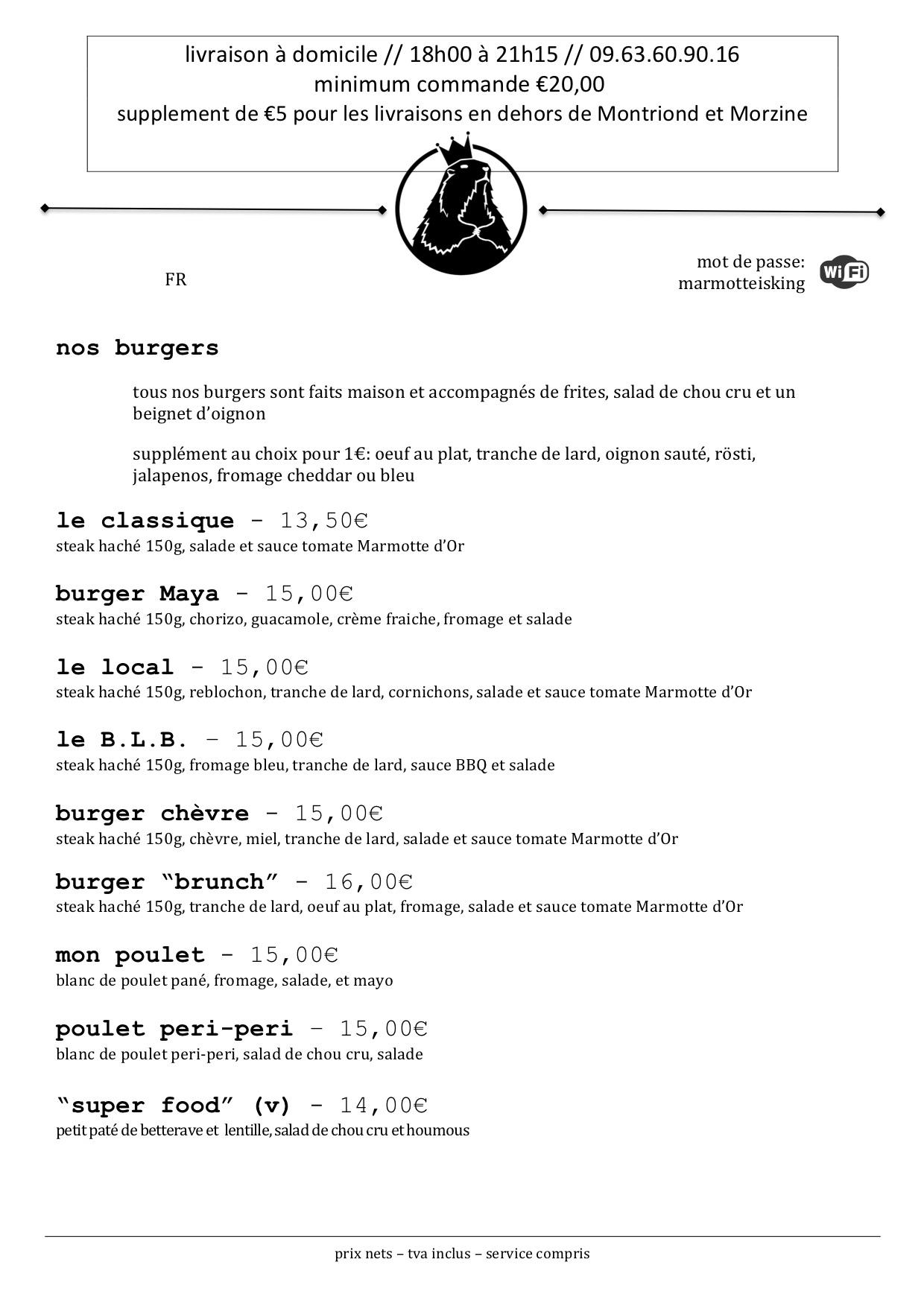 Burger menu 2018 TA FR